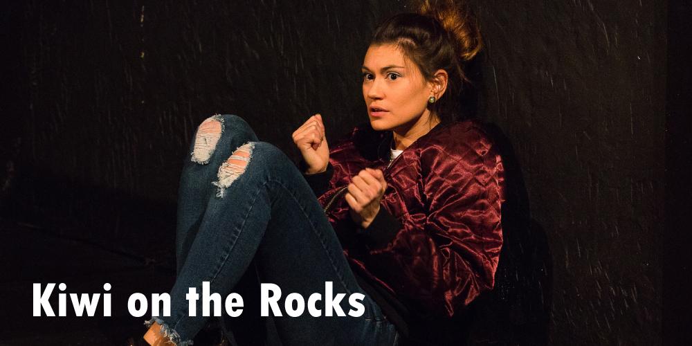 Kiwi on the Rocks